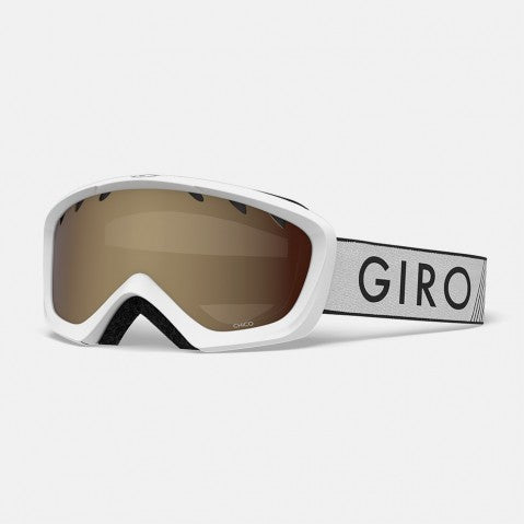 Giro - Chico White Zoom Snow Goggles / AR40 Lenses