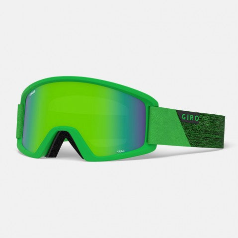 Giro - Semi Bright Green Peak Snow Goggles / Loden Green + Yellow Lenses