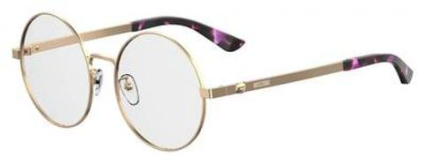 Moschino - Mos 538 F Rose Gold Eyeglasses / Demo Lenses