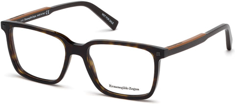 Ermenegildo Zegna - EZ5145 Colored Havana Eyeglasses / Demo Lenses