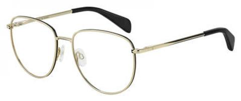 Rag & Bone - Rnb 7017 Gold Eyeglasses / Demo Lenses