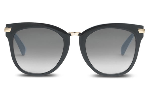 TOMS - Adeline Black Sunglasses, Grey Gradient Lenses