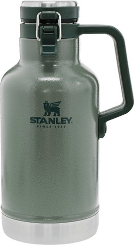 Stanley - Classic Easy Pour Hammertone Green 64oz Vacuum Growler