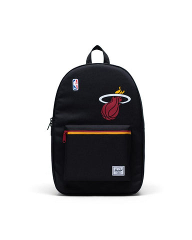 Herschel Supply Co. - Settlement NBA Superfan Satin Miami Heat Black/Red Yellow Backpack