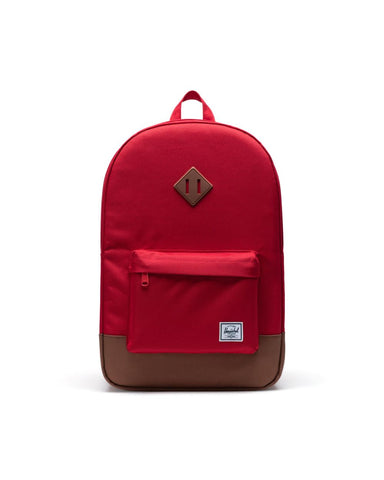 Herschel Supply Co. - Heritage Red Saddle Brown Backpack