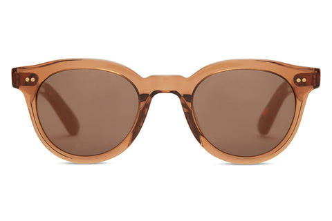 TOMS - Fin Ash Brown Crystal Sunglasses, Brown Gradient Lenses