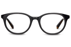 TOMS - Hayley Shiny Black / Tortoise Rx Glasses
