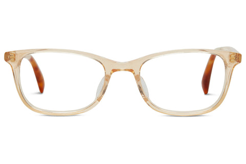 TOMS - Anna Matte Champagne / Honey Tort Rx Glasses