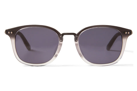 TOMS - Barron Black Clear Fade Sunglasses, Dark Grey Lenses