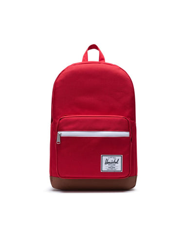 Herschel Supply Co. - Pop Quiz Red Saddle Brown Backpack