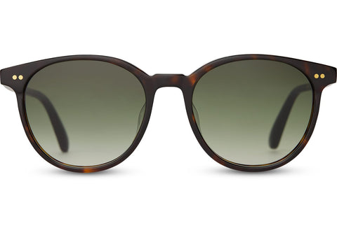 TOMS - Bellini Dark Tortoise Sunglasses / Olive Gradient Lenses