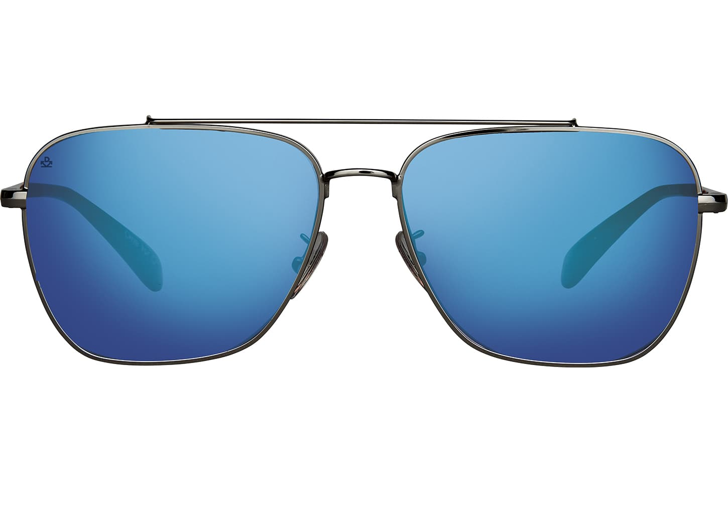 TOMS - Irwin 201 Gunmetal Zeiss Sunglasses / Deep Blue Mirror Lenses