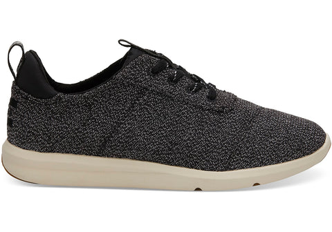 TOMS - Women's Cabrillo Black Terry Sneakers