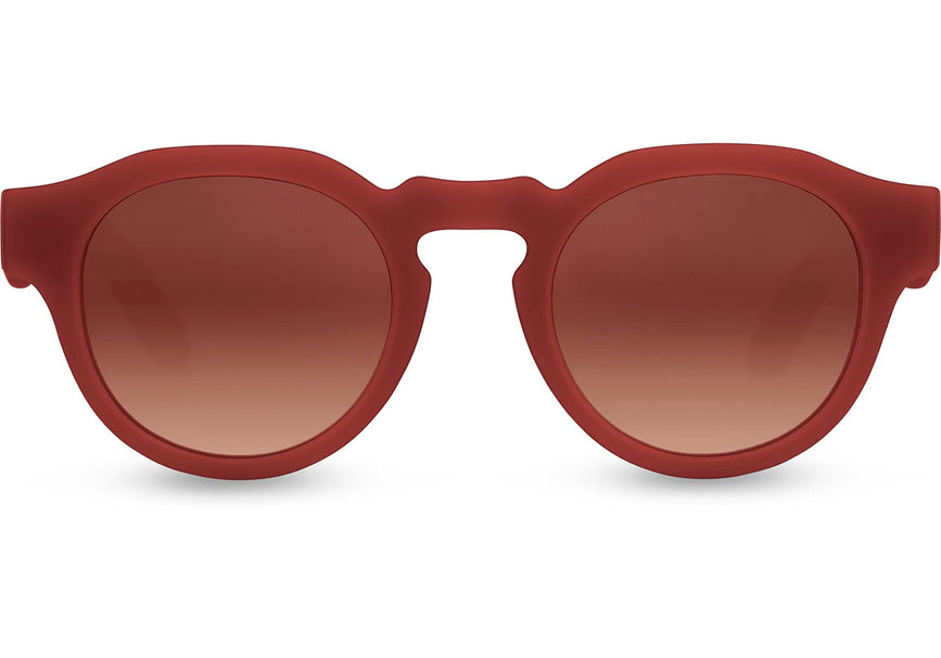 e5790b8d28 TOMS - Bryton Matte Spice Bronze Sunglasses / Brown Double Gradient Lenses