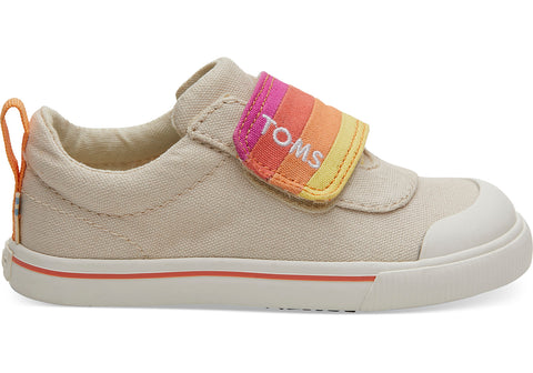 TOMS - Tiny Toms Doheny Natural Horizon Canvas Sneakers