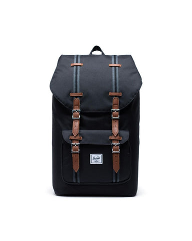 Herschel Supply Co. - Little America Black Tan Backpack