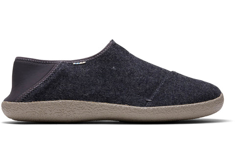 TOMS - Men's Rodeo Forged Iron Grey Felt Slippers