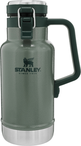 Stanley - Classic Easy Pour Hammertone Green 32oz Vacuum Grumbler