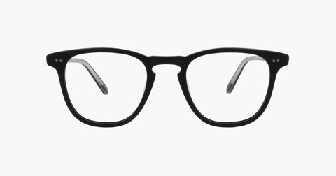 Garrett Leight - Brooks Matte Black Eyeglasses / Demo Lenses