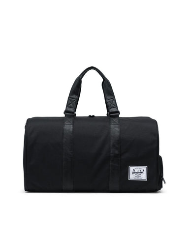 Herschel Supply Co. - Novel Black Black Synthetic Leather Duffel Bag