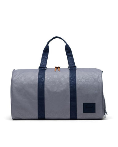 Herschel Supply Co. - Novel Grey Peacoat Bandana Duffel Bag