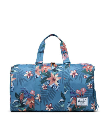 Herschel Supply Co. - Novel Summer Floral Heaven Blue Duffel Bag