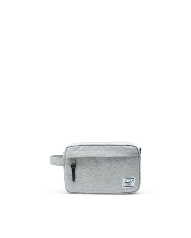 Herschel Supply Co. - Chapter Light Grey Crosshatch Travel Kit