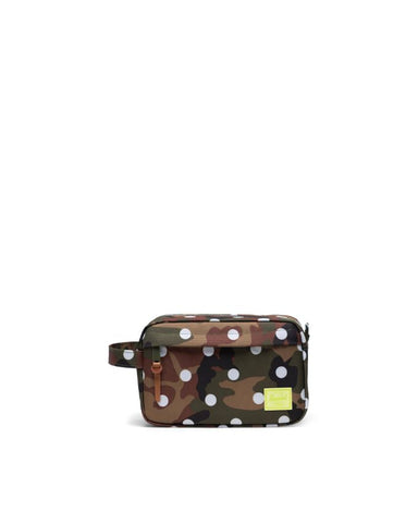 Herschel Supply Co. - Chapter Woodland Camo White Dot Travel Kit