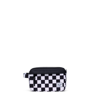 Herschel Supply Co. - Chapter  Checker Black White Black Travel Kit