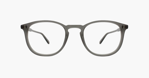 Garrett Leight - Kinney 47mm Matte Grey Crystal Eyeglasses / Demo Lenses