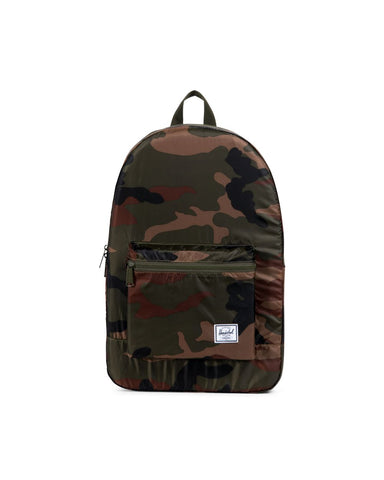 Herschel Supply Co. - Packable Ripstop Woodland Camo Daypack