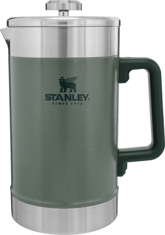 Stanley - Classic Stay Hot Hammertone Green 48oz French Press