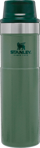 Stanley - Classic Trigger Action Hammertone Green 20oz Travel Mug