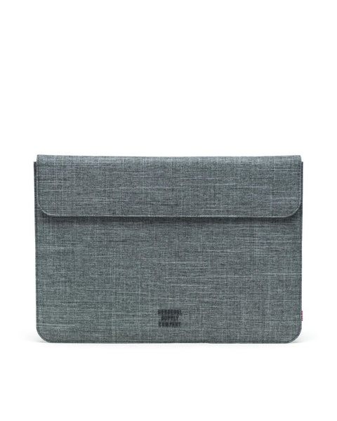 Herschel Supply Co. - Spokane 15 in Raven Crosshatch  Laptop Sleeves /  Lenses