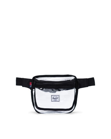 Herschel Supply Co. - Fifteen Clear Black Transparent Hip Pack
