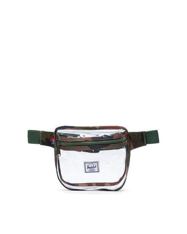 Herschel Supply Co. - Fifteen Clear Woodland Camo Transparent Hip Pack