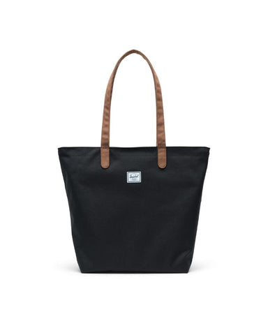 Herschel Supply Co. - Mica Black Saddle Brown Tote
