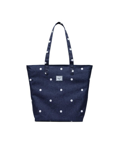 Herschel Supply Co. - Mica Polka Dot Crosshatch Peacoat Tote