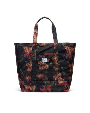 Herschel Supply Co. - Bamfield Mid Volume Tropical Hibiscus Tote