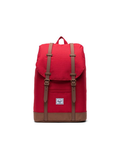 Herschel Supply Co. - Retreat Mid Volume Red Saddle Brown Backpack