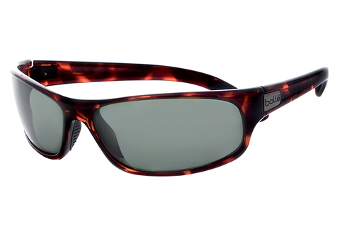 Bolle - Anaconda Dark Tortoise Sunglasses, Axis Oleo AF Polarized Lenses