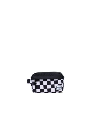 Herschel Supply Co. - Chapter Carry On Checker Black White Black Travel Kit