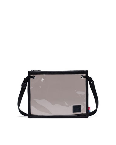 Herschel Supply Co. - Alder Clear Black Smoke Crossbody Bag