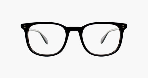 Garrett Leight - Bentley Matte Black Eyeglasses / Demo Lenses