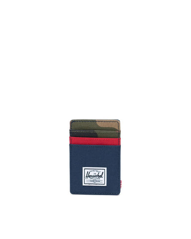 Herschel Supply Co. - Raven NavyRed Woodland Camo Wallet