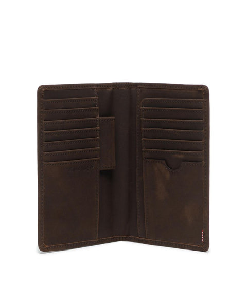 Herschel Supply Co. - Search Nubuck Brown Passport Case
