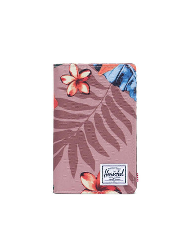 Herschel Supply Co. - Search Summer Floral Ash Rose Passport Case