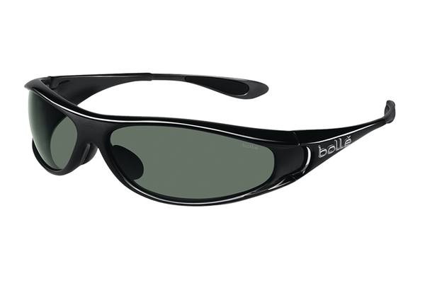 Bolle - Spiral 3D Smoke Sunglasses, Axis Oleo AF Polarized Lenses