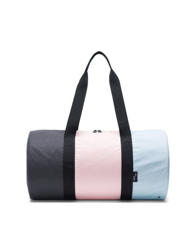 Herschel Supply Co. - Packable Glacier Cameo Rose Black Reflective Duffel Bag