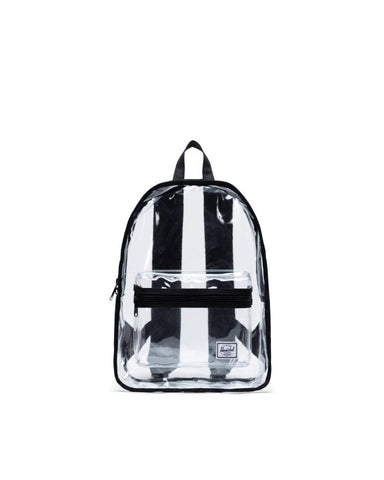 Herschel Supply Co. - Classic Mid Volume Clear Black Transparent Backpack